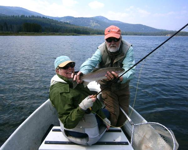 Flyfishing rivers lakes usa trout grayling whitefish for Hebgen lake fishing report